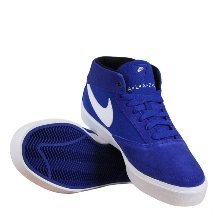 Nike Omar Salazar in Mens Trainers in Blue/White. For affordable designer fashion visit www.hypedirect.com