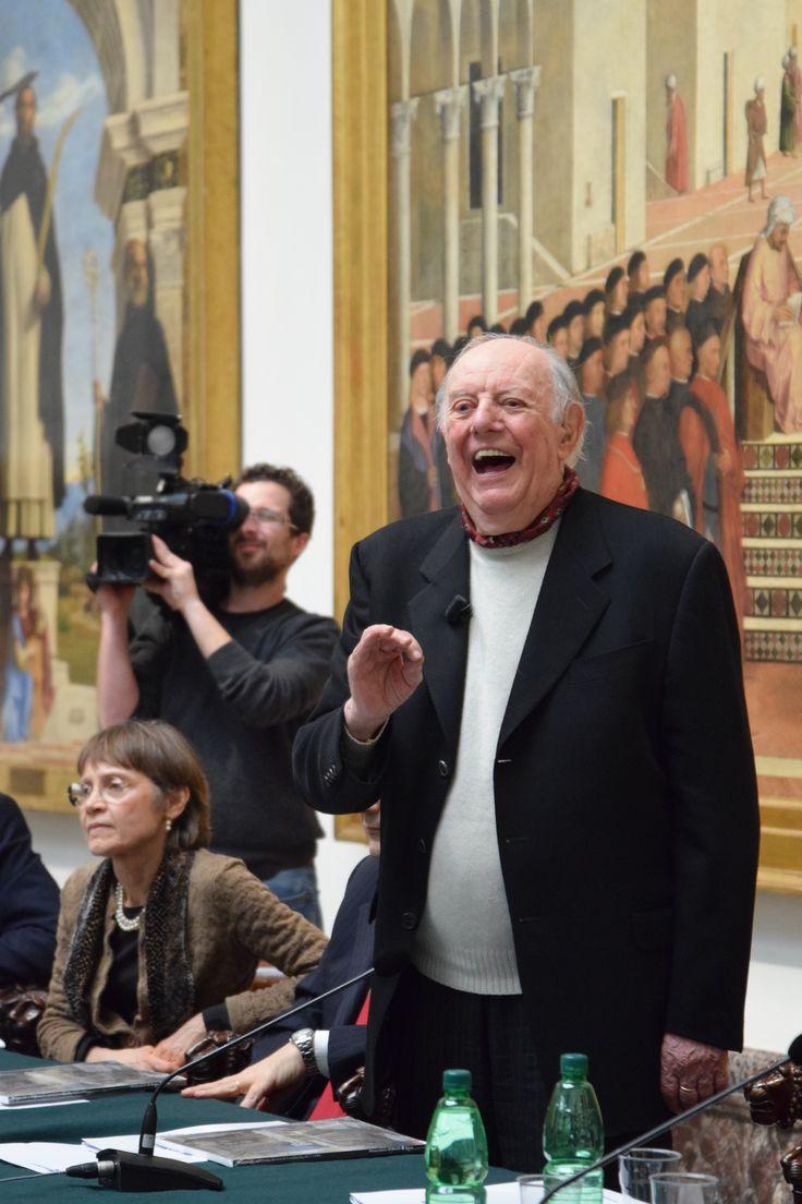 Le parole di Dario Fo sull'arte e sulle 10 puntate in cui racconta la storia di 10 grandi artisti