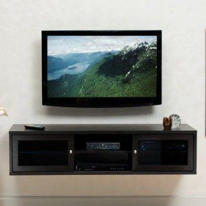 Wall Mounted Media Console Interior