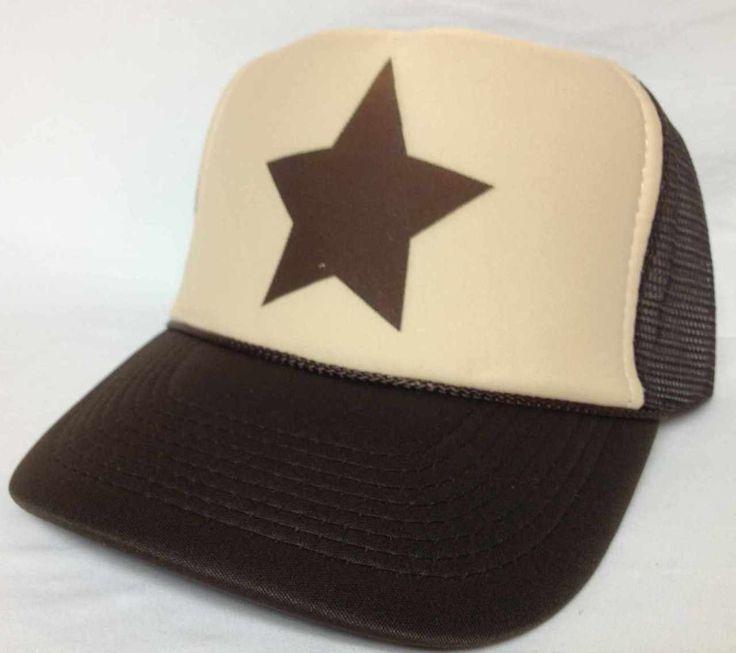 Gravity Falls brown star Trucker Hat - 2014 New Arrivals Trucker Hats and Hats