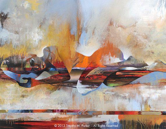 Figure abstraite Art Figure peinture Reproduction par FigureArt
