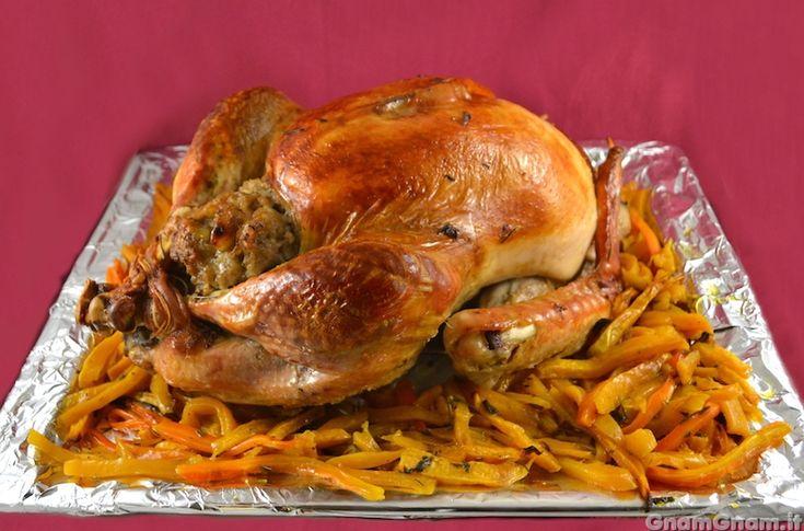 Scopri la ricetta di: Tacchino ripieno del Ringraziamento