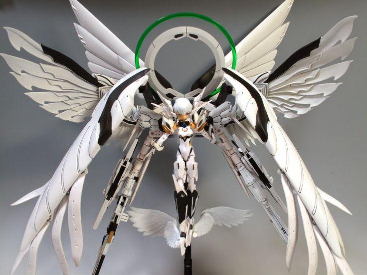Busou Shinki x Gundam Efflorescence Ryoran - Gundam Kits Collection News and Reviews