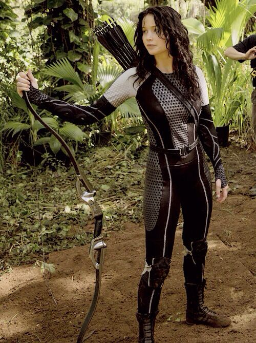 Katniss Everdeen - Jennifer Lawrence - The Hunger Games, Catching Fire 2013. Production designer, Philip Messina