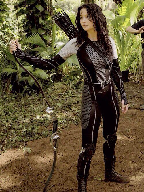 Katniss Everdeen - Jennifer Lawrence - The Hunger Games, Catching Fire 2013. Production designer, Philip Messina