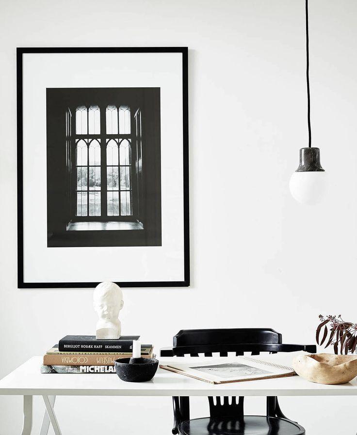 Stylish Black And White Home