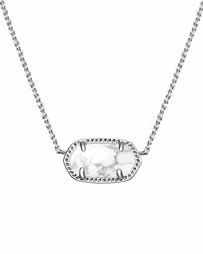 Kendra Scott Signature Elisa Pendant Necklace in White Howlite & Rhodium Plated Kendra Scott http://www.amazon.com/dp/B013SHQ2B2/ref=cm_sw_r_pi_dp_cCOwwb18TQRRA