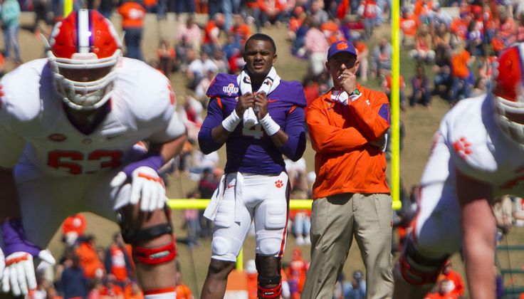 It's no doubt that Clemson quarterback Deshaun Watson will continue to turn heads this season. The ACC Male Athlete of the Year, who led Clemson to 14 victories last season including an appea…