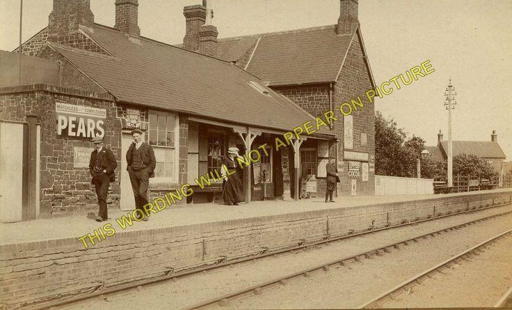 Snettisham Railway Station Photo. Dersingham - Heacham. Kings Lynn to Hunstanton | eBay