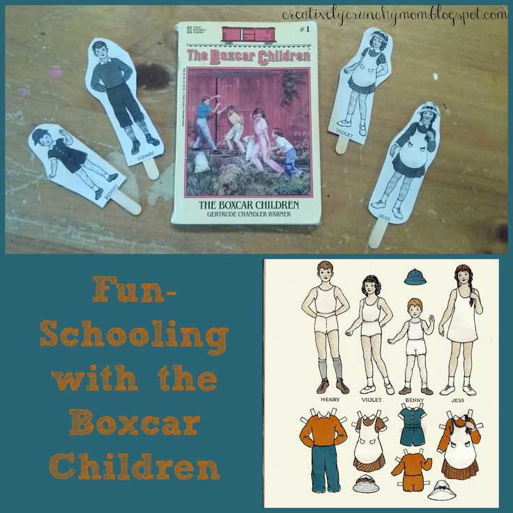 Crunchy Mom: Fun-Schooling With The Boxcar Children!