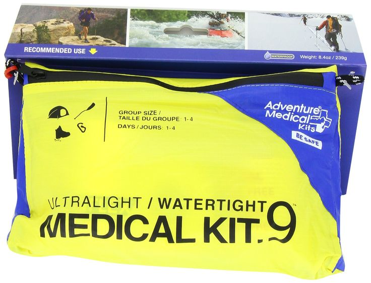 I put a FAK together but this is a great start.  Adventure Medical Kits UltraLight & Watertight .9 Kit