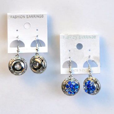 Ginger Snaps aren't only for Bracelets, necklaces and rings, but now available for earrings from Paradise Creative Crafts.  Get your Ginger Snap earrings for R28 from our online shop.