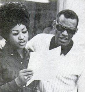 Aretha Franklin and  Ray Charles.  Legen--wait for it--dary.