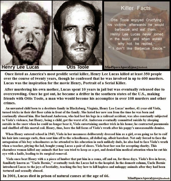Henry Lee Lucas and Otis Toole