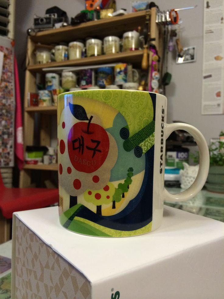 [City Mug DAEGU]  Starbucks city mug   #starbucks #Daegu #apple #해외출장선물