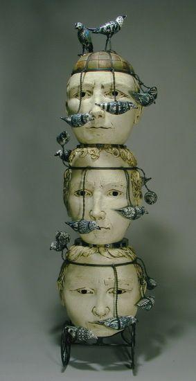 Artist Robin and John Gumaelius (Sculptures)