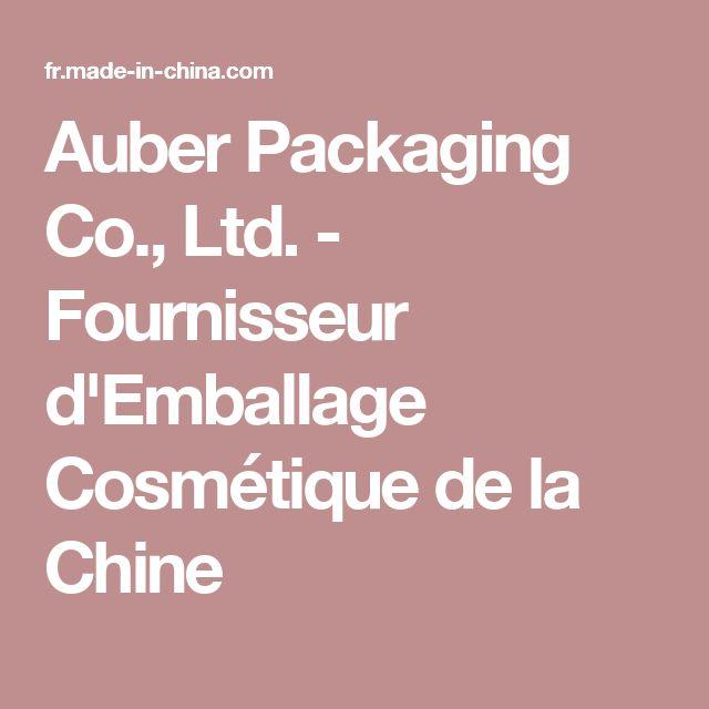 Auber Packaging Co., Ltd. - Fournisseur d'Emballage Cosmétique de la Chine