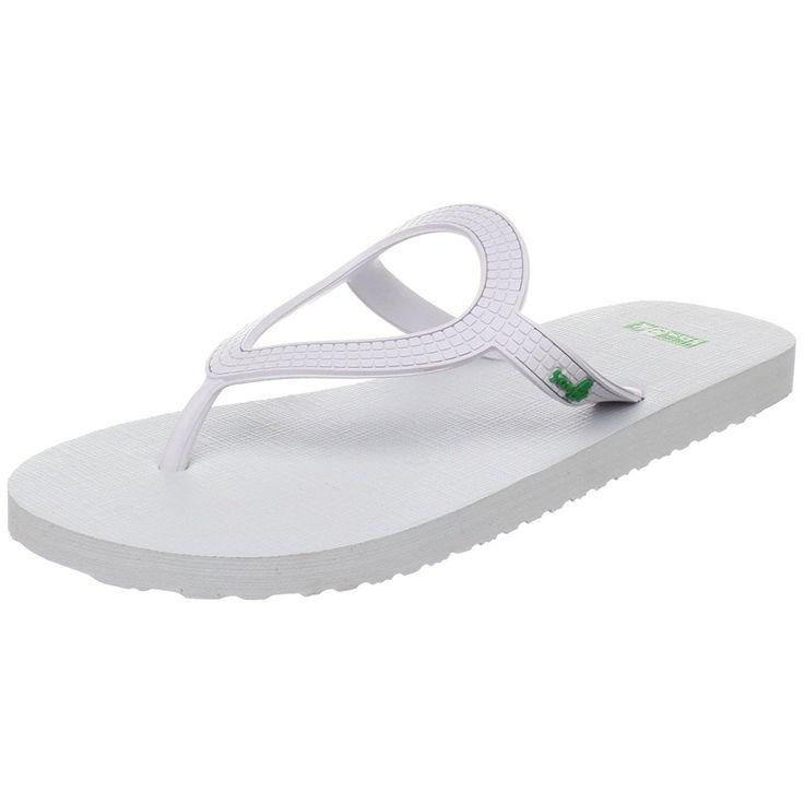 Sanuk Women's Ibiza Sandal *** Awesome product. Click the image : Sanuk flip flops