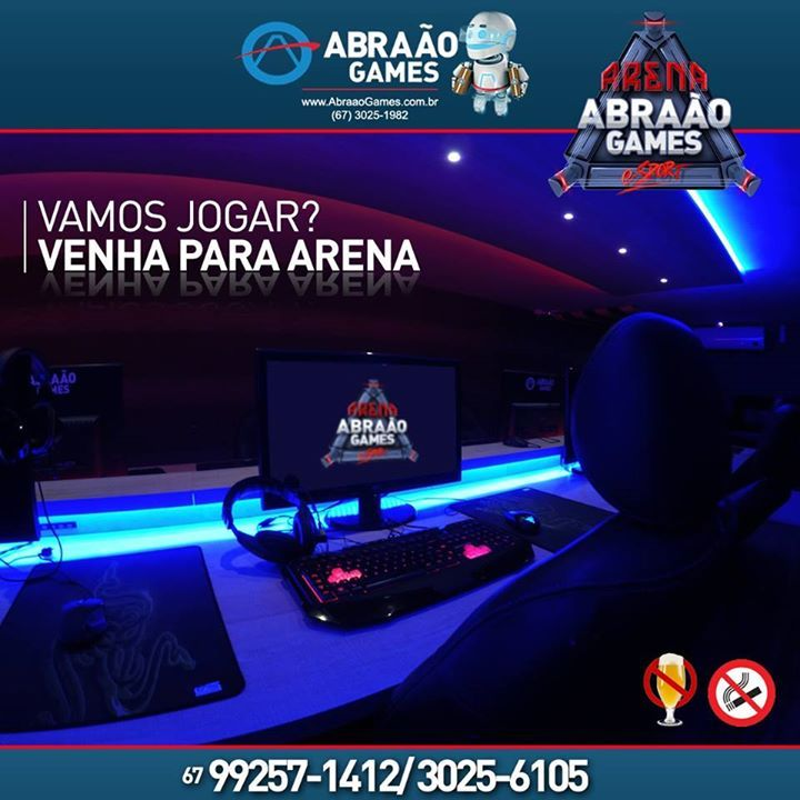 A promoção continua! Apenas UM REAL a hora na maior arena de Campo Grande! No mínimo 5 horas! Aproveite! Venha para Arena Abraão Games! #fashion #style #stylish #love #me #cute #photooftheday #nails #hair #beauty #beautiful #design #model #dress #shoes #heels #styles #outfit #purse #jewelry #shopping #glam #cheerfriends #bestfriends #cheer #friends #indianapolis #cheerleader #allstarcheer #cheercomp  #sale #shop #onlineshopping #dance #cheers #cheerislife #beautyproducts #hairgoals #pink…
