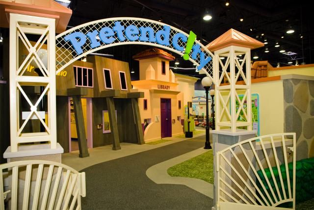 Orange County attractions and things to do in or near Anaheim, CA within half an hour of Disneyland California: Pretend City Children's Museum