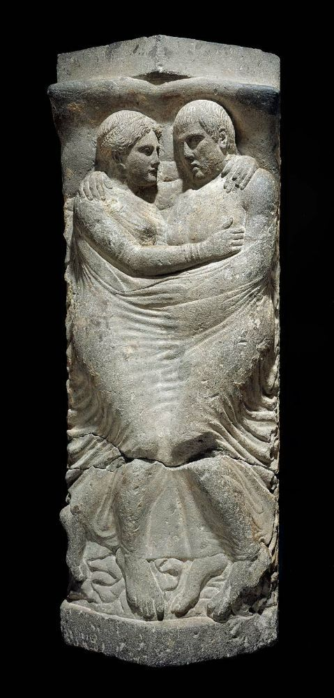 Etruscan Sarcophagus and lid with relief of Married couple. http://www.mfa.org/node/4301
