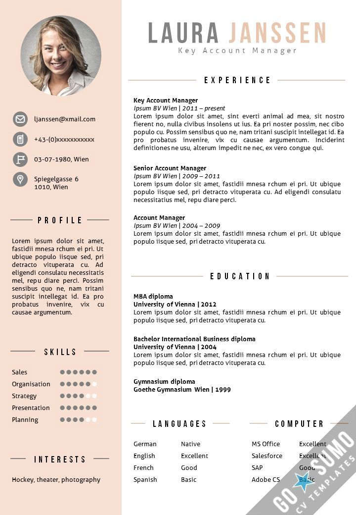 Top 12 Tips for Writing a Great Resume Resume template