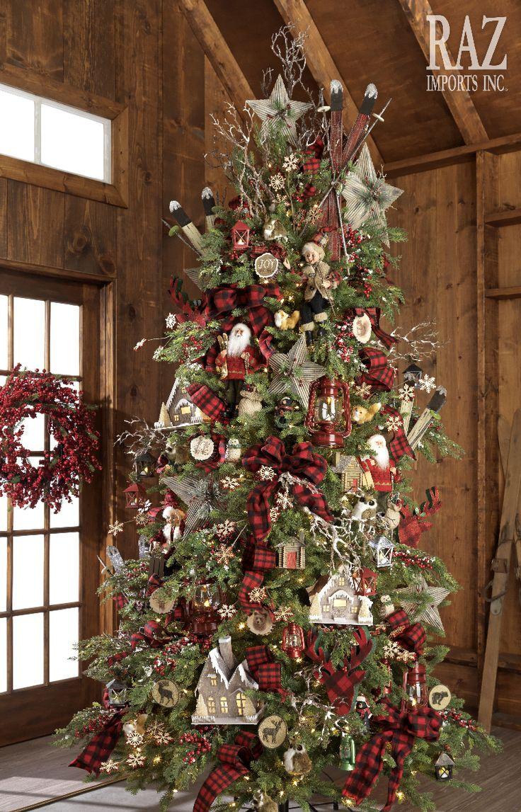 Plaid Christmas Tree Best 20 Cabin Christmas Ideas On Pinterest Cabin Christmas