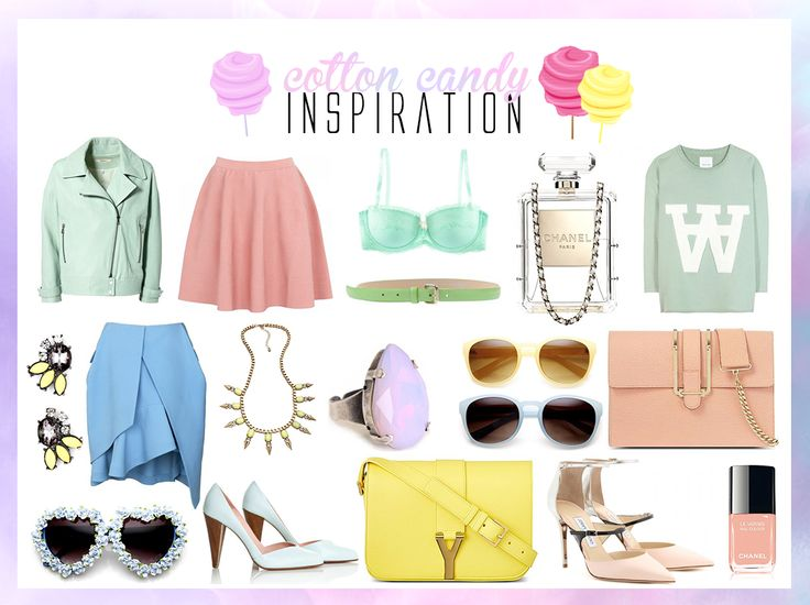 TREND - COTTON CANDY