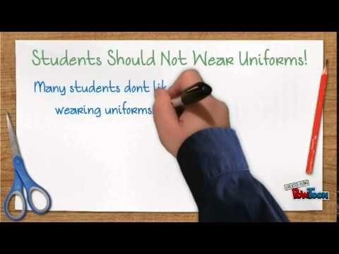 Should Students Wear Uniforms? - YouTube