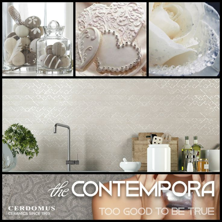 #Contempora #wall #floor #porcelain #Tiles #inspiration #moodboard #light #kitchen #backsplash #dream #home #decoration #design #style