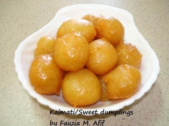 Sweet Dumplings/Kaimati | Yummy!! | Sweet dumplings ...
