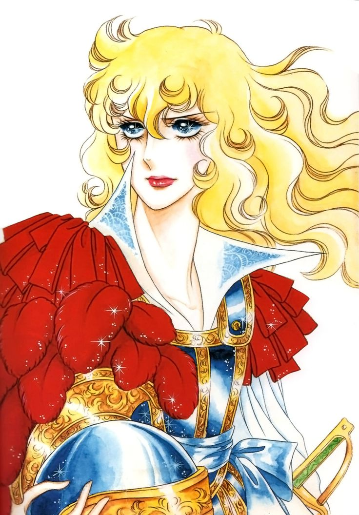 Oscar François de Jarjayes from The Rose of Versailles manga by Riyoko Ikeda
