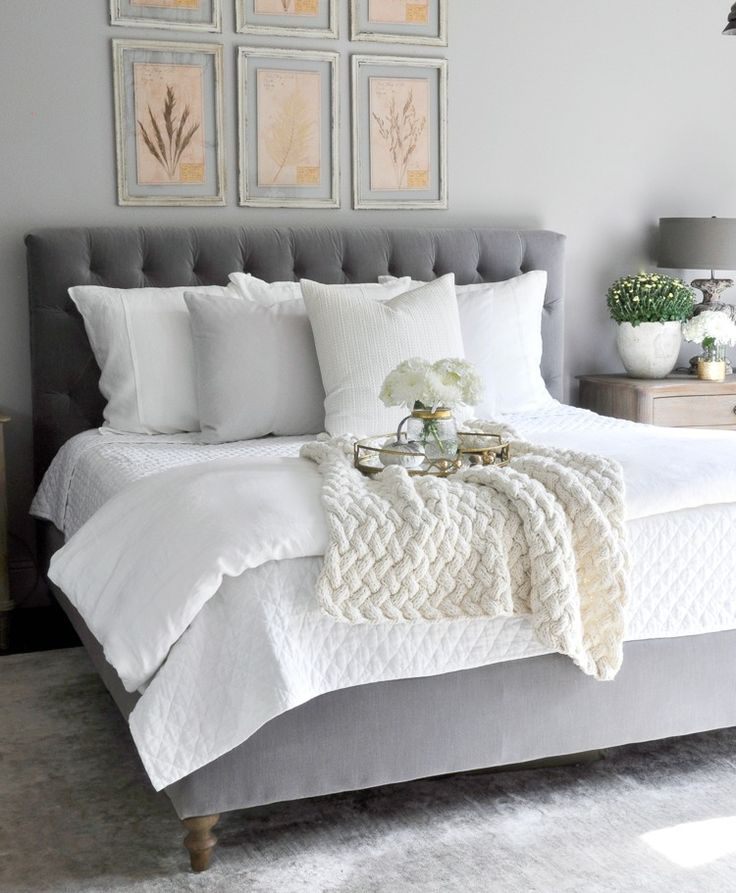 6 Beautiful Ways To Decorate With Velvet Grey Bedroomsromantic Bedroomswhite
