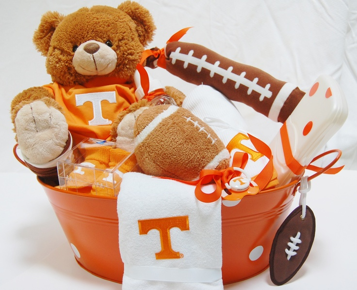 Baby Gift Baskets Utah : Best images about orange you glad to be vol on