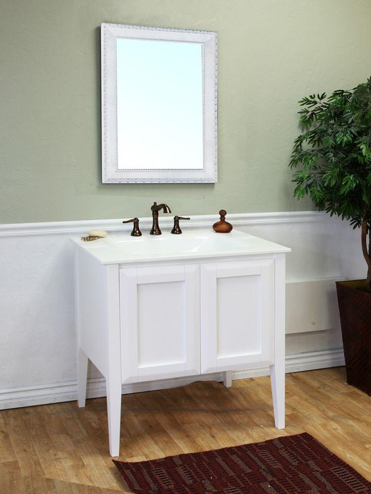 bellaterra vittoria white single bathroom vanity with optional mirror single sink bathroom vanities at hayneedle