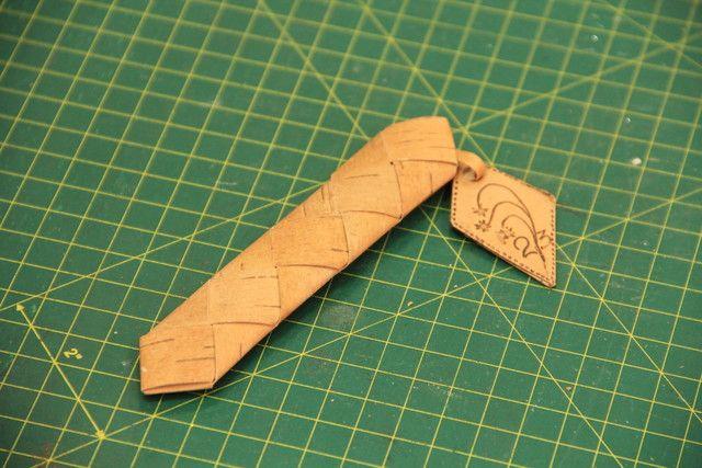 Берестяной чехол для авторучки /  Birch bark case for pens  #pen #birch #elm #cover