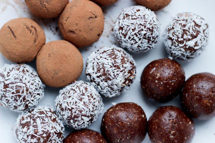 raw food vegan recipes truffels