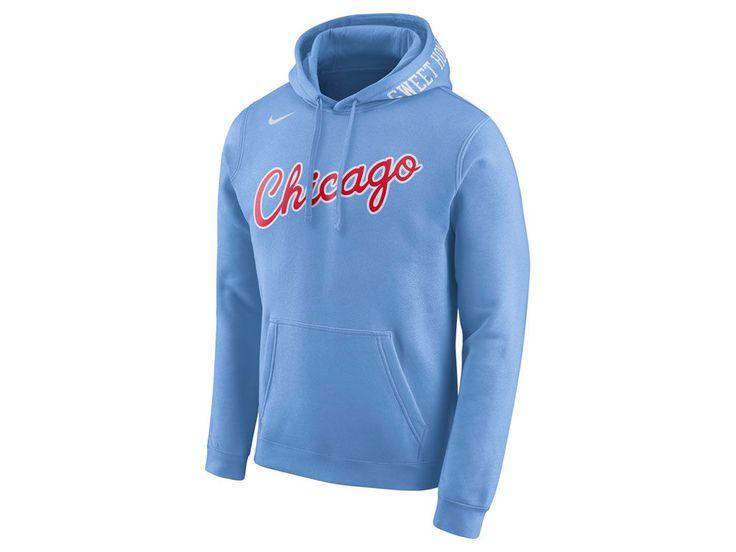 d2bf162ec529 Chicago Bulls Nike 2017 NBA Men s City Club Fleece Hoodie