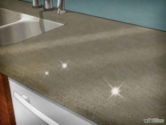Clean Granite Countertops Step 6