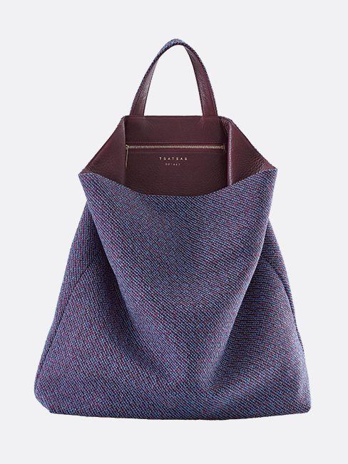 TSATSAS SO_FAR bag made out of Kvadrat/Raf Simons