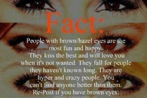 I haz green and brown AND goldish eyes! #hazeleyes