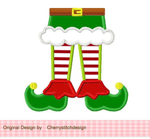 Christmas Reindeer Applique -4x4 5x7 6x10-Machine Embroidery Applique Design.