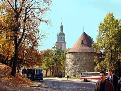 Gunpowder Tower Lviv