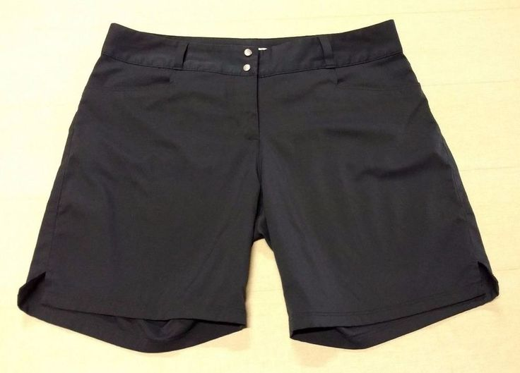 Womens Ladies ADIDAS Golf Shorts Stretchy Blue Sz 10 Athletic Casual Pockets EUC #adidas #CasualShorts #Golf