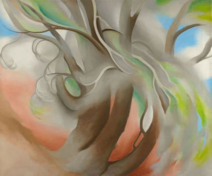 Beautiful - Spring Tree No. II - Georgia O'Keeffe