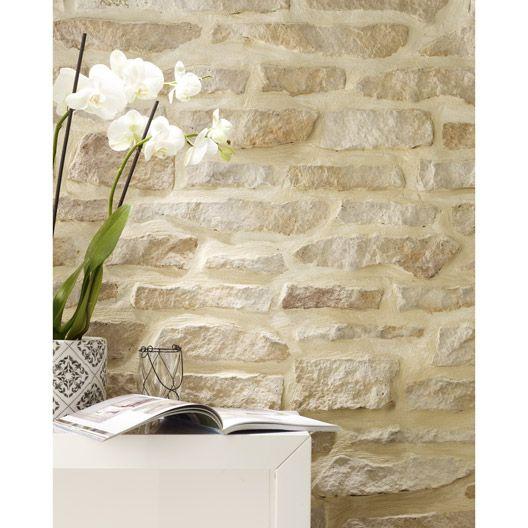 plaquette de parement 3 vall es en b ton bronze d co pinterest salons stone houses and. Black Bedroom Furniture Sets. Home Design Ideas