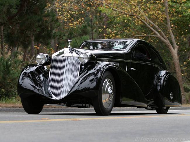 Rolls-Royce Phantom I Jonckheere Coupé cars vintage prewar 1930s