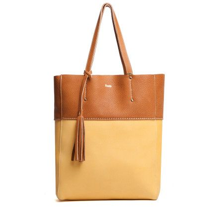 French Tote Biarritz | Women's Leather Shoulder bags | Roots