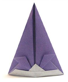 Origami Length Samurai Hat