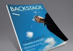 Backstage magazine by Den norske Opera & Ballett. Pinned from www.redink.no.